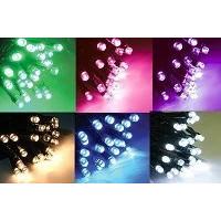 Новогодние гирлянды уличные нить LED