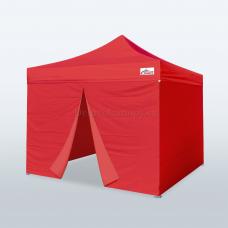 Палатка шатер беседка 3х3 раздвижной павильон торговый Синий
