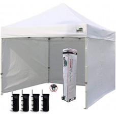 Палатка трансформный тент шатер 3х3 раздвижной павильон торговый Белый