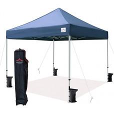 Беседка для сада шатер 3х3 раздвижной павильон торговый Зеленый