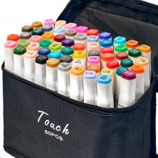 Видеообзор! Набор качественных маркеров для рисования и скетчинга на спиртовой основе Touch 36 цветов!